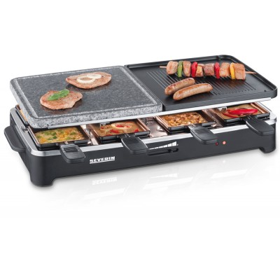 Raclette Party Grill with Natural Grill Stone - RG 2341